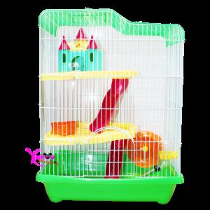 Lồng lâu đài 2 tầng dành cho Hamster
