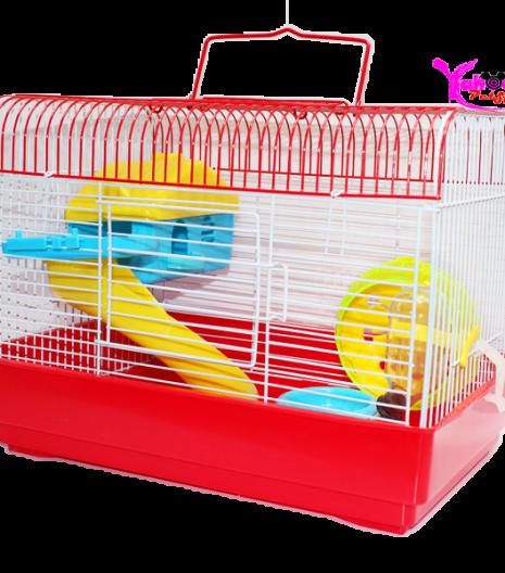 Lồng mặt hề chữ nhật Hamster