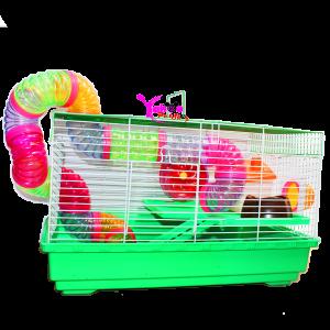 Lồng ống nối chữ nhật Hamster