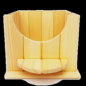 Nhà tắm gỗ cho Hamser Bear