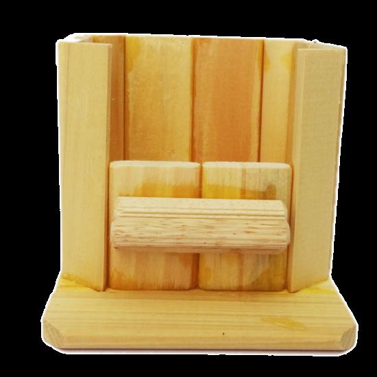 Nhà tắm gỗ nhỏ
