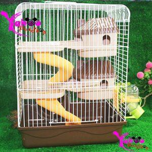 lồng nuôi hamster nông trại 2 tầng