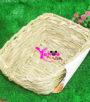 nhà ngủ cỏ cho thỏ hình giường