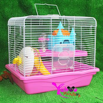 Lồng lâu đài lớn hamster