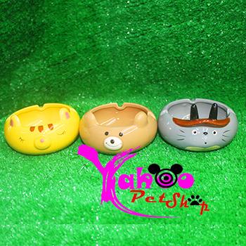 Chén ăn hình thú cho Hamster, Thỏ, Bọ