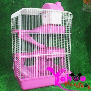 Lồng tiểu hoàng tử 3 tầng Hamster