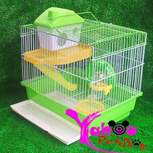Lồng hoàng tử khay xanh lá hamster