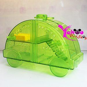 Lồng xe ô tô xanh lá nuôi hamster