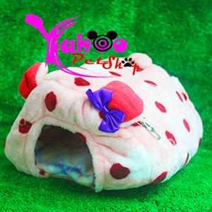 Túi ngủ lông bò sữa đỏ