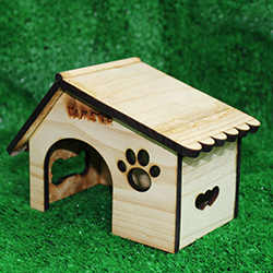 Nhà gỗ happy cho hamster