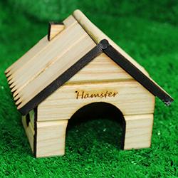 Nhà ống khói gỗ hamster