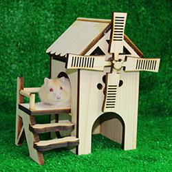 Nhà cối xay gió cho Hamster