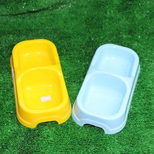 Chén ăn nhựa 2 ngăn size nhỏ