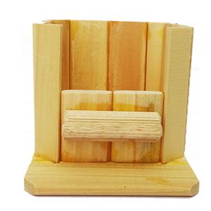 Nhà tắm gỗ nhỏ hamster