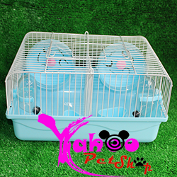 Lồng 2 ngăn size trung cho hamster