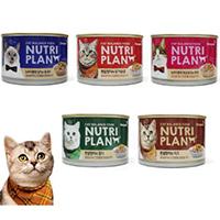 Pate mèo Nutri plan 5 vị