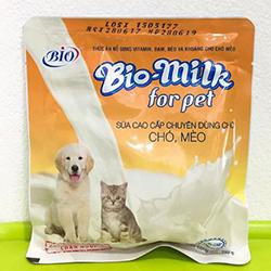 Sữa bột bio cho chó mèo