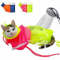 Túi lưới tắm mèo