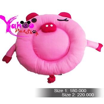 Nệm ngủ heo hồng