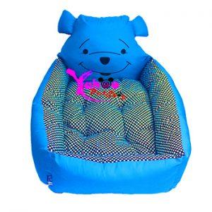 Nệm gấu Pooh xanh dương