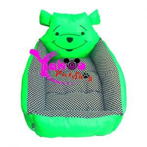 Nệm gấu Pooh xanh lá