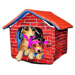 Nhà gạch cho chó mèo