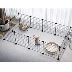 Chuồng quây lưới sắt lắp ghép cho chó mèo