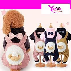 Quần áo hình cừu cho chó mèo