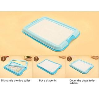Cách sử dụng tã lót chuồng vào khay vệ sinh