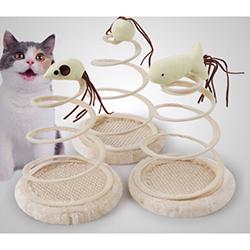 bàn cào chụôt lò xo cho mèo