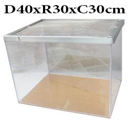 Chuồng mika không phụ kiện size 40x30x30cm cho hamster và thú nhỏ