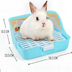Khay vệ sinh vuông lớn cho thỏ bọ