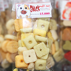 snack mật ong