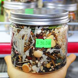 thức ăn hỗn hợp dạng hộp 480gr