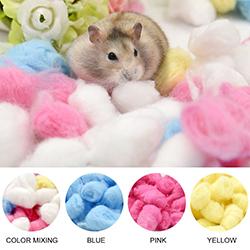 Bông cotton lót chuồng thú nuôi