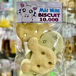 biscuit đầu gấu