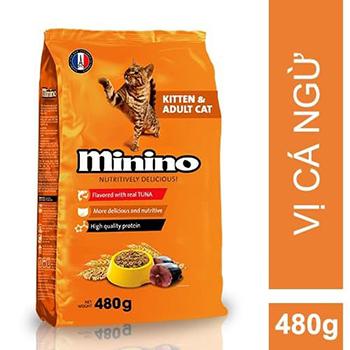 Thức ăn mèo con Minino