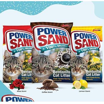 Cát Vệ Sinh Mèo Power Sand 5L