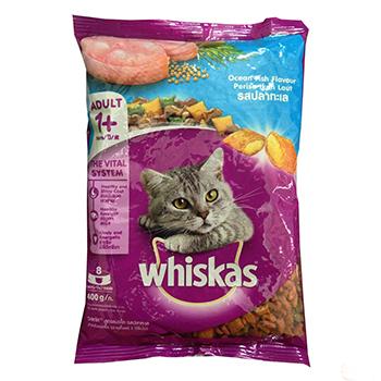 Thức ăn Mèo Whiskas 400gr