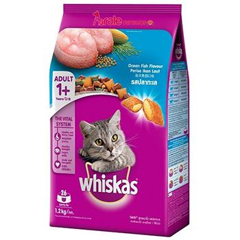 Thức ăn hạt whiskas cho mèo