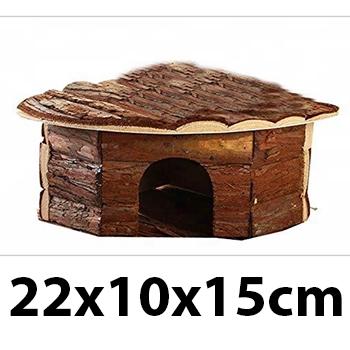 Nhà ngủ góc tam giác có vỏ cây