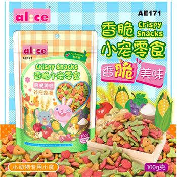 Snack rau củ Alice 100gr